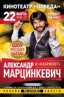 """Концерт Александра Марцинкевича и """"Кабриолет"""""""