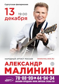 Концерт А.Малинина