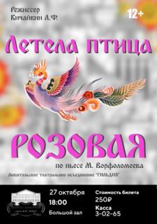 Спектакль «Летела птица розовая»